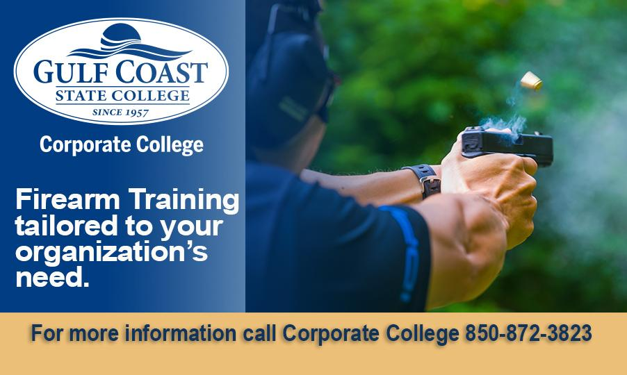 For more information, please call Corporate College at 850-872-3823