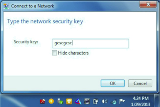 Security key: gcscgcsc
