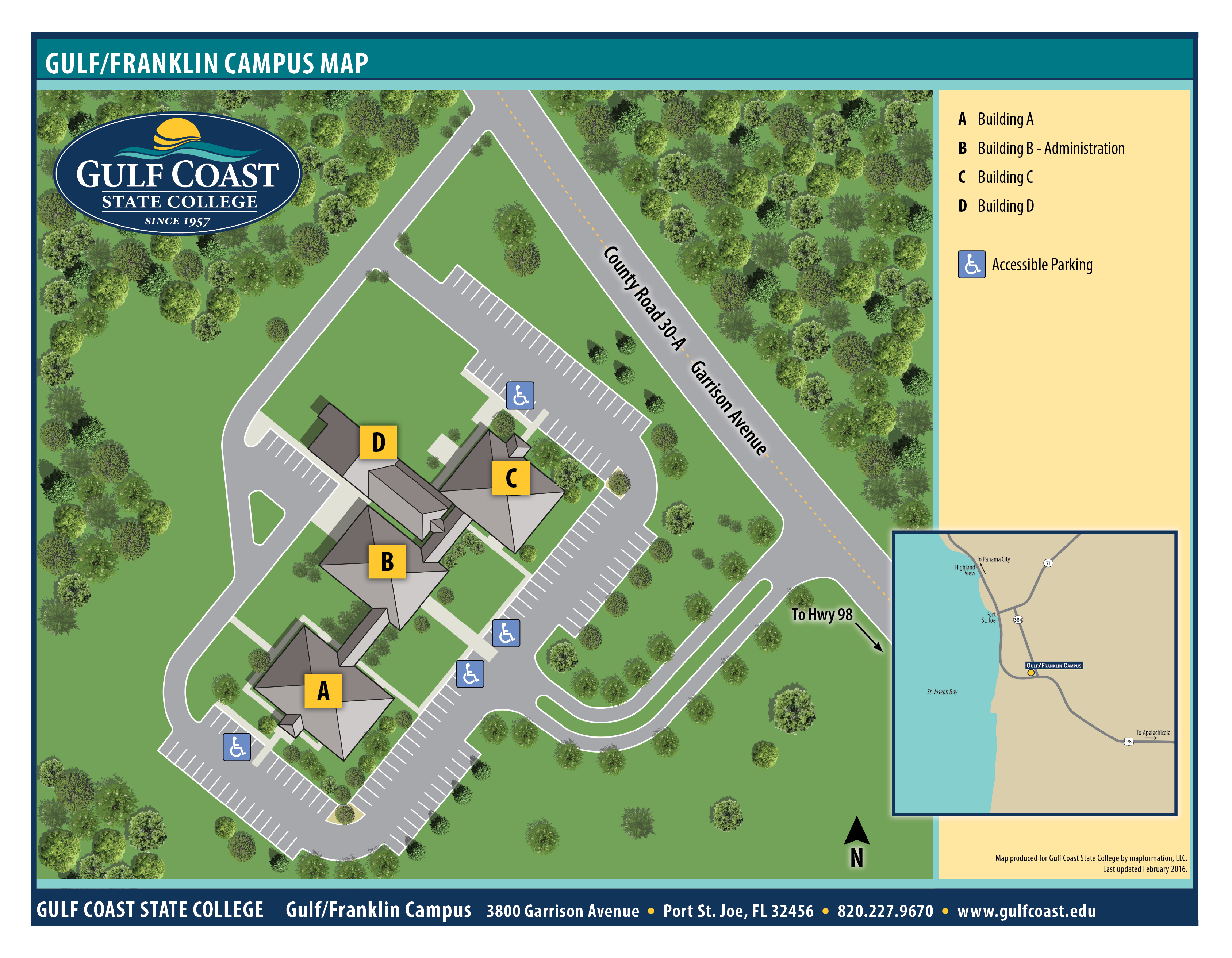 central campus Middle & upper school campus map - friends' central school.