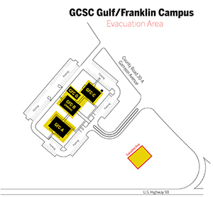 Gulf Franklin Campus Map