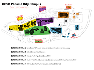 Panama City Campus Map