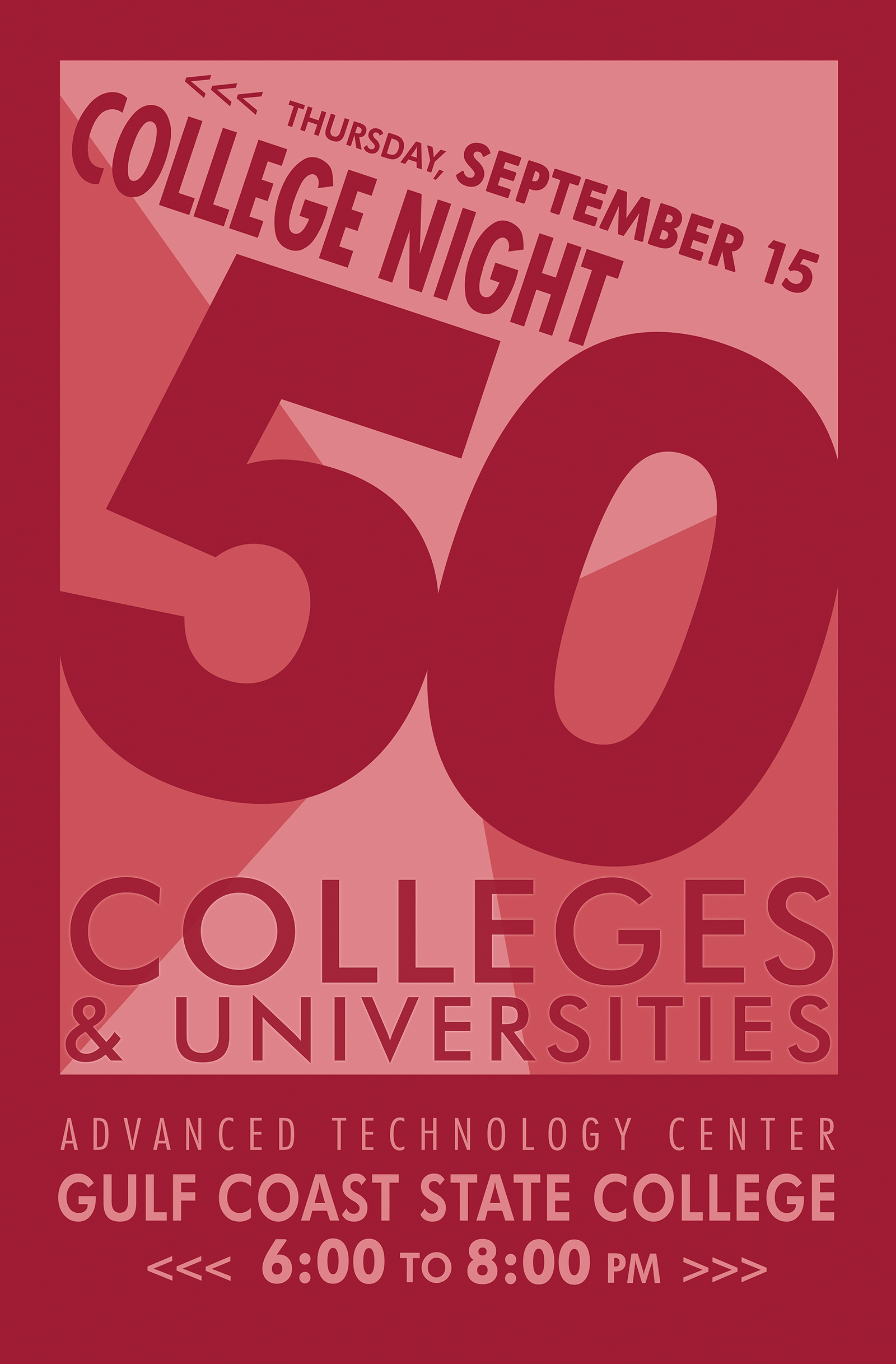 College Night Poster