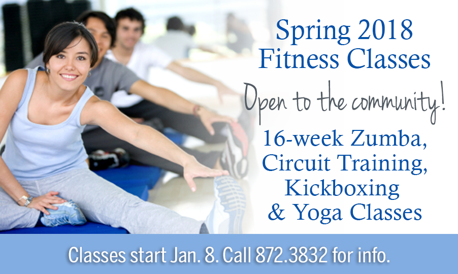 spring 2018 fitness classes