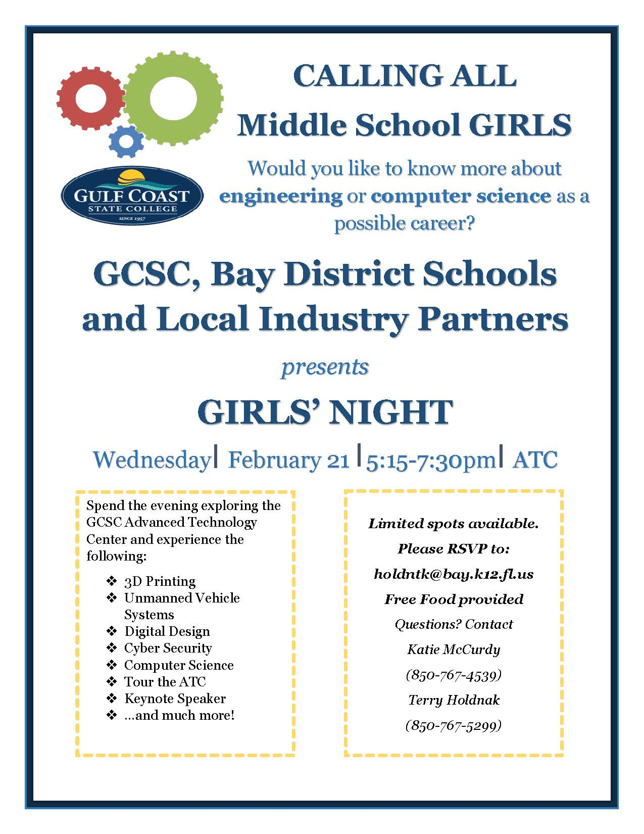 Girls' Night to Promote STEM Careers