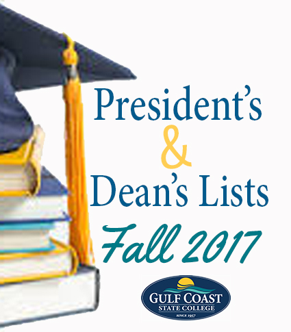 President's and Dean's List Fall 2017