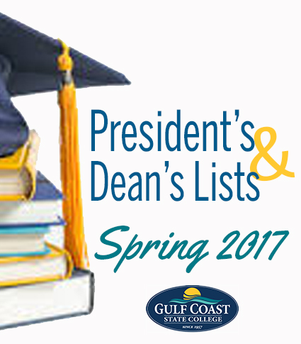 PRESIDENT'S AND DEAN'S LIST SPRING 2017