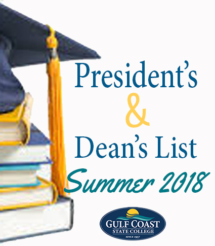 summer 2018 president and deans list