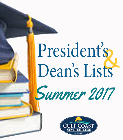 president's and dean's lists summer 2017