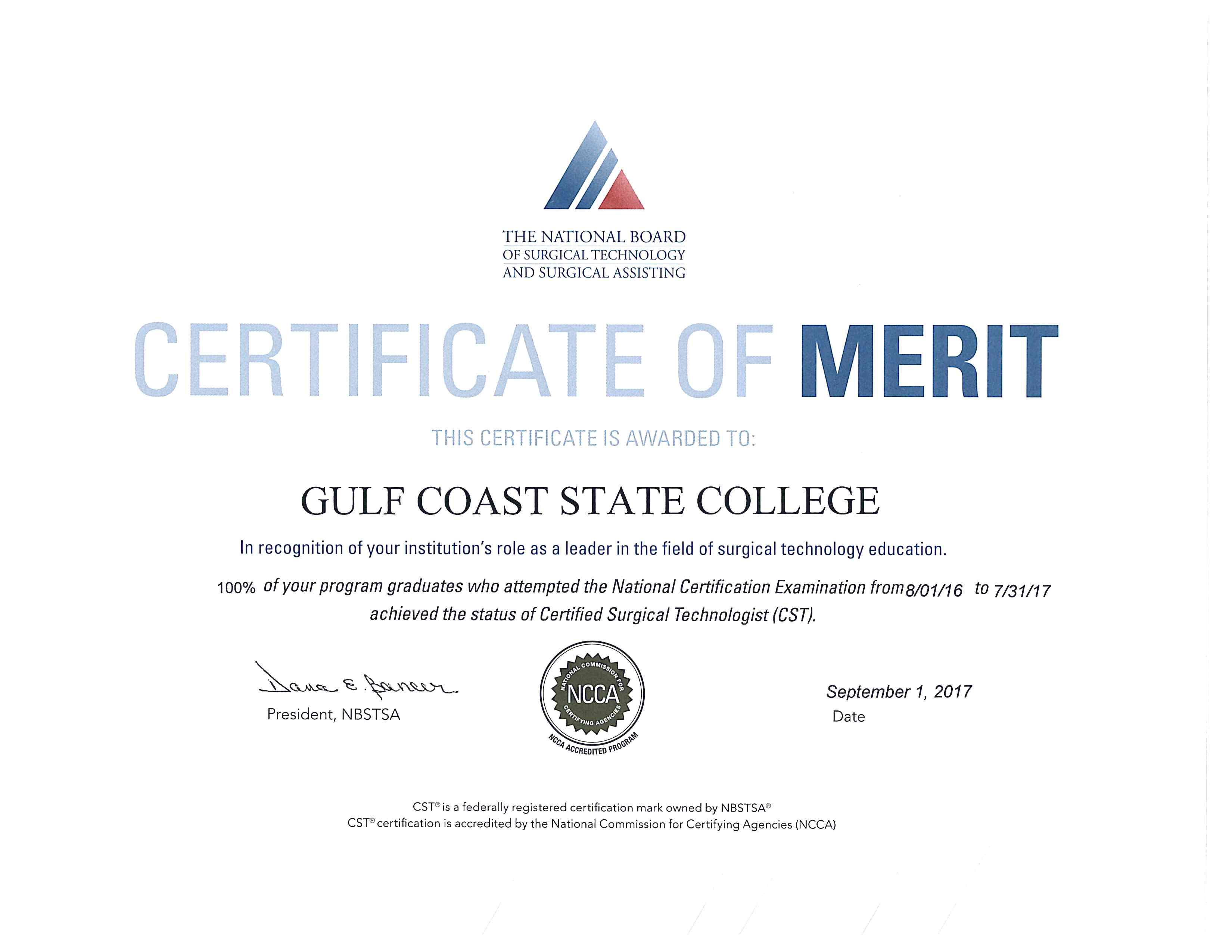 surg-tech certificate