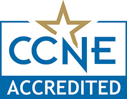 CCNE Accreditied LOGO