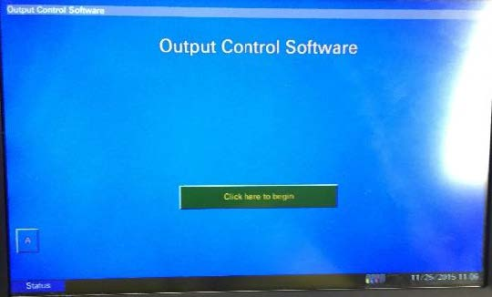 Output Control Software