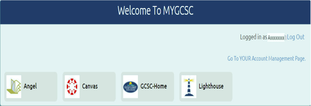 Welcome to myGCSC