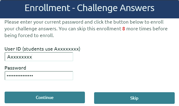 Enroll Challenge Answers