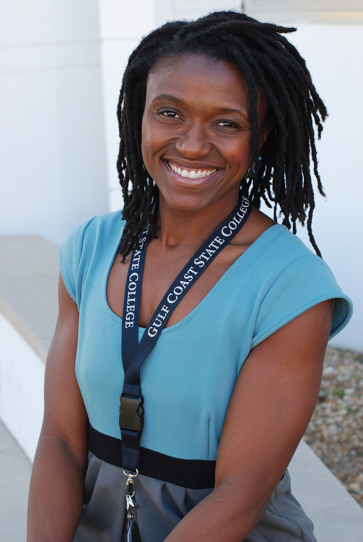 assistant professor of English Sandra Pugh