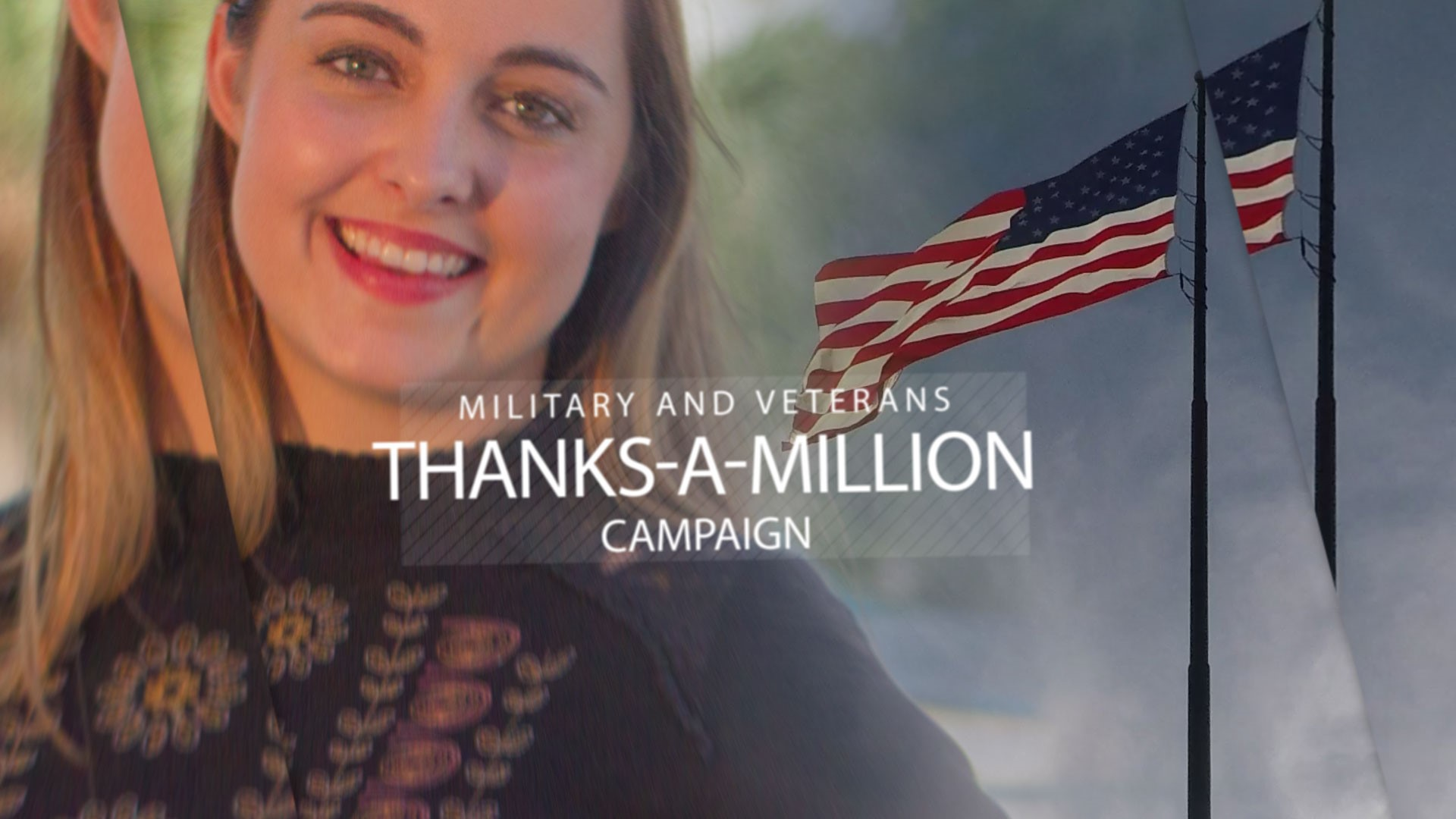 Military/Veterans Thanks a Million Campaign