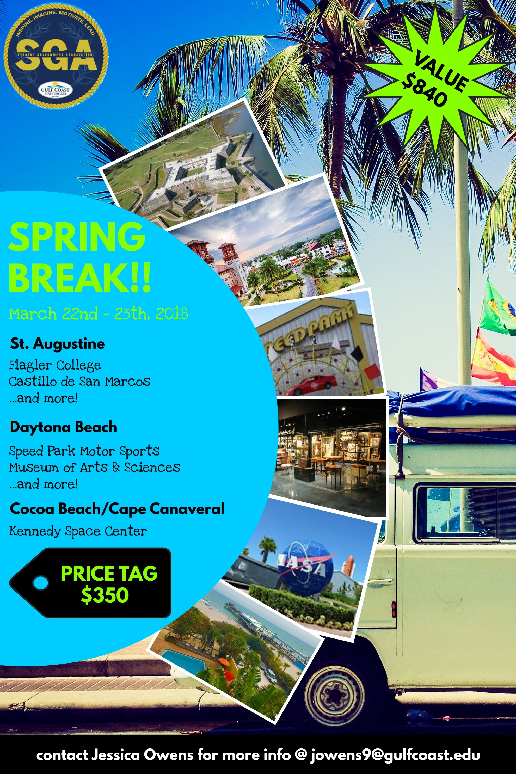 Spring Break Flyer 2018